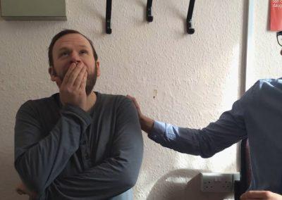 Father Hears Silence